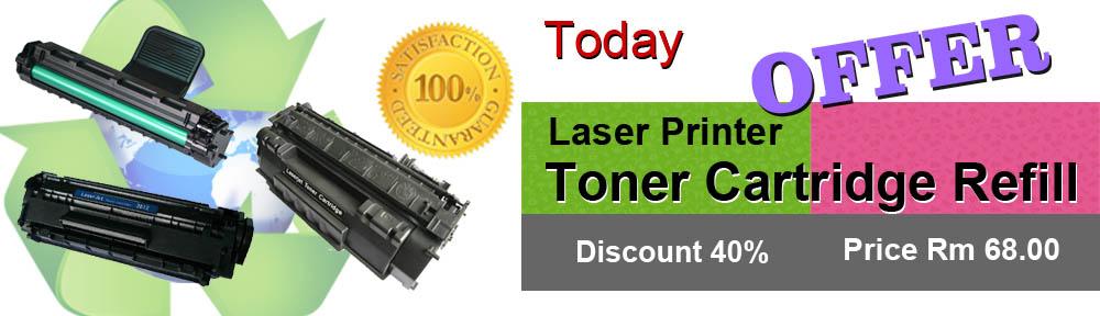Laser Toner Cartridge Refills Best Value in Penang