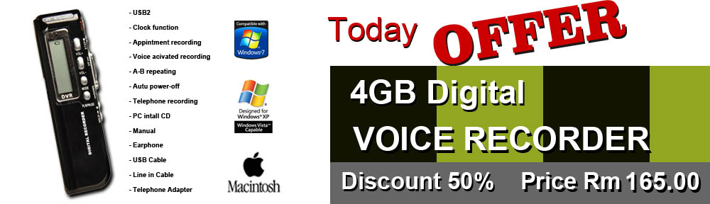 Digital Voice Recorder Special Offer