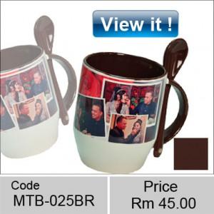 Ceramic color spoon mug Combination of Colors