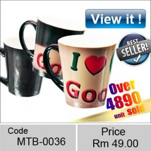 Ceramic Cone shaped latte magic Mug