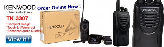 Kenwood walkie-talkie TK-3307