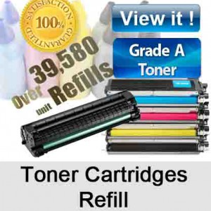 We Refill your Laser Printer Toner Cartridges ready in 1 Hour