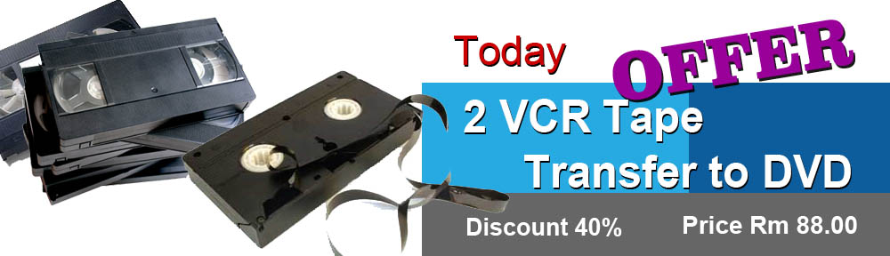 VCR video tapes convert DVD Special OFFER