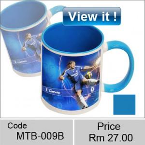 color blue mug