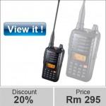 Professional walkie talkie UHF / VHF