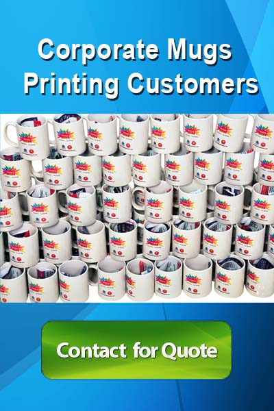Corporate mug printing services