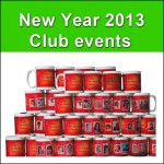 High quality new year events mugs