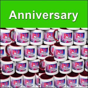 High quality anniversary events mugs