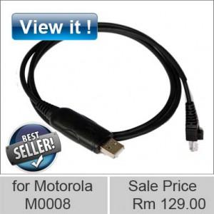 motorola walkie talkie USB programming M0008