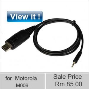 motorola walkie talkie USB programming M006
