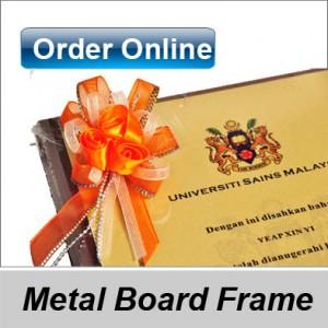 Metal printed