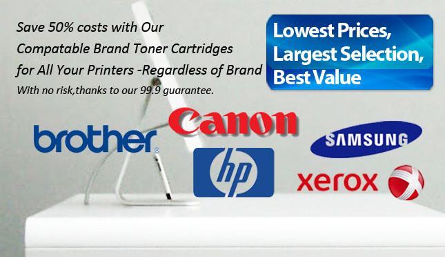 Compatible brand toner cartridge